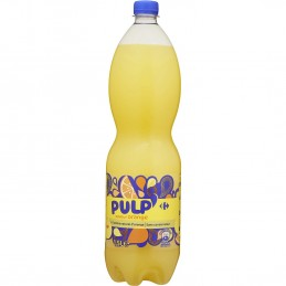 Soda Pulp' saveur orange