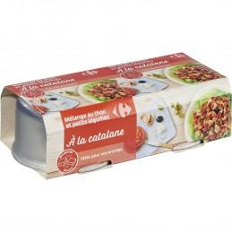 Mélange de thon/légumes à...