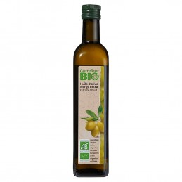 Huile bio d'olive vierge extra