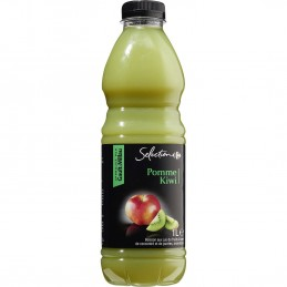 Jus de fruits pommes kiwi