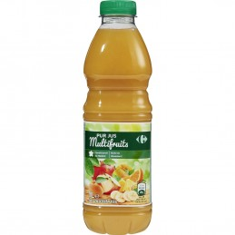 Jus de fruits multifruits