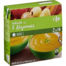 Soupe Velouté aux 8 légumes...