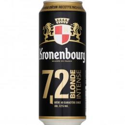 Bière blonde intense