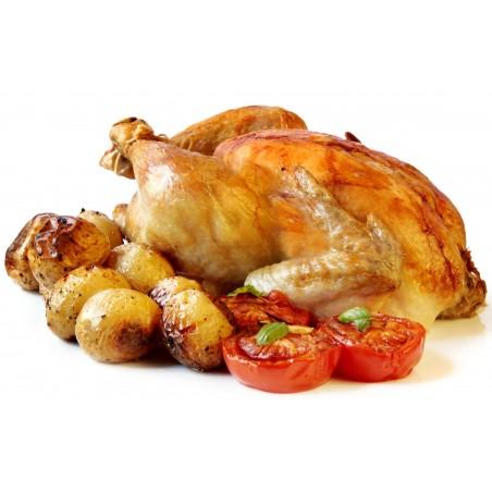 Poulet rôti  bio sans antibiotique