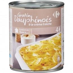 Plat cuisiné gratin Dauphinois