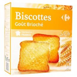 Biscottes brioché