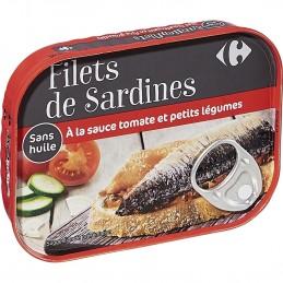 Filets de sardines sauce...