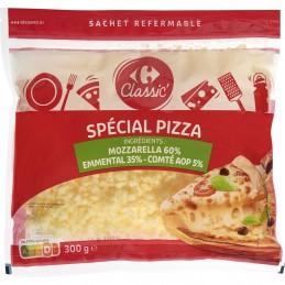 Fromages râpés spécial pizza