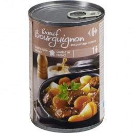 Plat cuisiné bœuf bourguignon