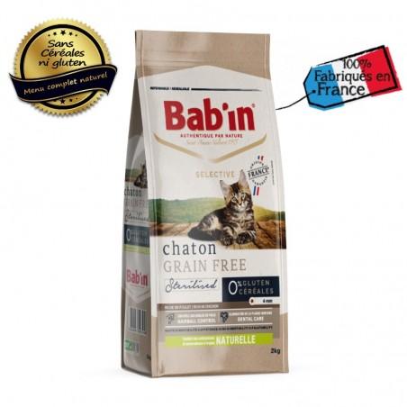 Croquettes pour chaton  Grain Free