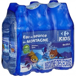 Eau de source CARREFOUR KIDS