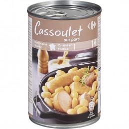Plat cuisiné cassoulet...