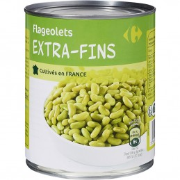 Flageolets extra-fins...