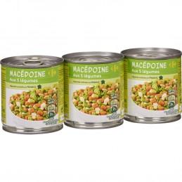Macédoine aux 5 légumes...