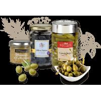 Cornichons, Olives et Câpres